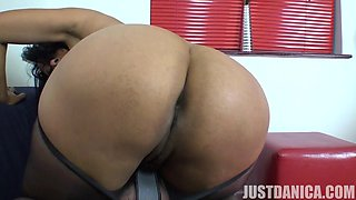 Closeup video of dirty wife Danica Collins flashing her pussy
