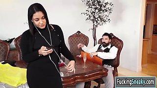 wedding organizer lena gets creampied by her costumer