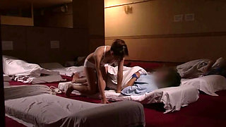 Japanese Sauna Lady Service At Sleeping Room