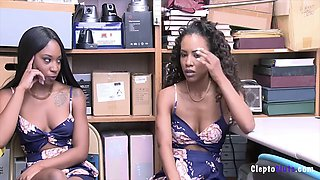 Demi sutra &amp lala ivey force fucked while caught stealing