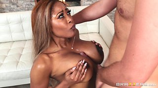 Moriah Mills is a big breasted babe craving a white cock