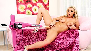 Bree Olson in Fuck Machine Video