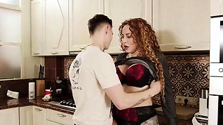 New Redhead MILF Get Fucked by Her Neighbor