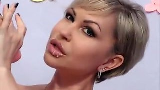 Exotic Amateur movie with Blonde, Piercing scenes