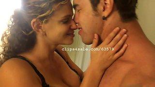 Richard and Annie Kissing