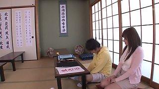 Crazy Japanese girl Azumi Yukino in Amazing showers, blowjob JAV movie