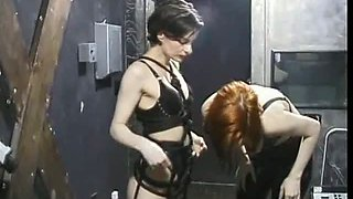 Two Hot Women Experiment Femdom Sex