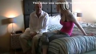 Old Dad fucks step daughter Skyla