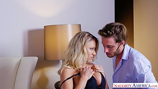 Katie Morgan is a huge fan of the real passion and she loves giving head