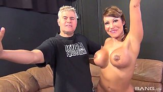 Big balck cock is everything whorish bombshell Ava Devine desires every day