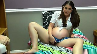 the mother of love: cali logan is a dirty pregnant cheerleater