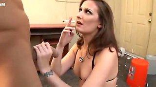 Smoking - Hailey Young - Balls Deep Diablos