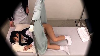Sweet Asian schoolgirl gets her tight anal hole drilled deep