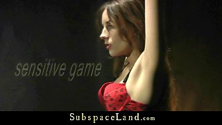 Red Lingerie BDSM ### Teen gets punished and spanking