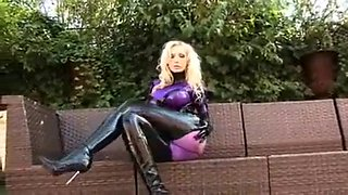 Amazing homemade Solo Girl, Latex xxx clip