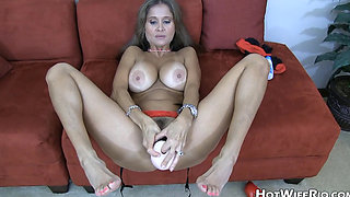 VIEJA ZORRA CUM ON FEET