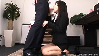 Kitagawa Yuzu gets her wet pussy plowed in different poses