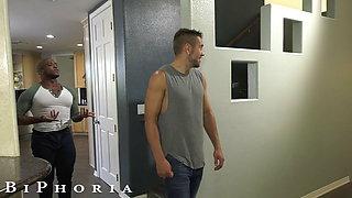 BiPhoria - Wild Bisexual Couple Seduce Their New Roommate