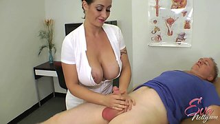 Eva Notty is a nasty nurse who knows how to make a dick stiff