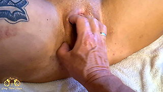 Crazy Fetish Couple - Extreme squirting in the hotel