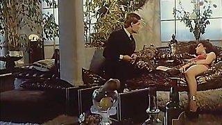 Crazy facial retro video with Alban Ceray and Marie-Claude Moreau
