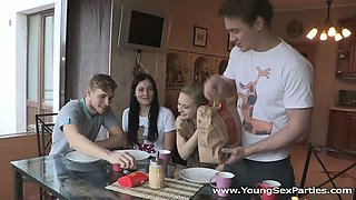 Young Sex Parties - Teens fuck in pairs and more