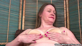 Church lady Andrea can't control her need for orgasm