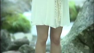 Best Japanese chick Saori Hara in Amazing College/Gakuseifuku, Outdoor JAV scene