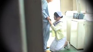 Busty naughty nurse gets fucked properly on spy cam