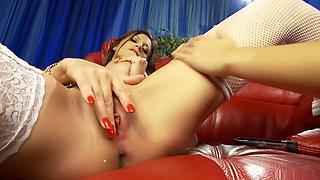 Hottest pornstars Krystal Webb and Sensual Jane in horny masturbation, european xxx clip