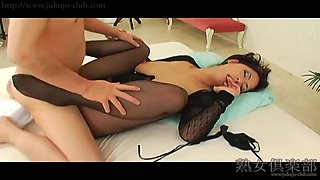 Big tit milf in pantyhose uncensored