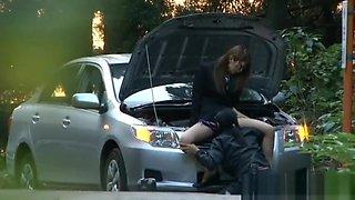 Hino hikari asian doll enjoys sex clip