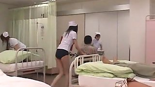 Crazy Japanese girl Rio Nagasawa, Hana Sakurai in Exotic Gangbang, Stockings/Pansuto JAV clip