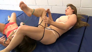 Lesbian wrestling fetish