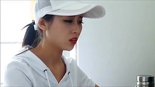 Sporty Chinese girl