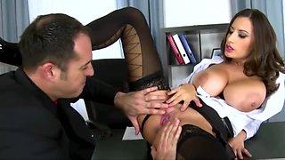 XXXJoX Sensual Jane Busty Businesswoman