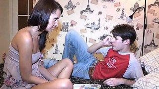 Astounding russian beauty Leyla banged by boyfriend