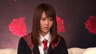 Incredible Japanese slut Saya Tachibana in Amazing Threesomes, Babysitters JAV clip