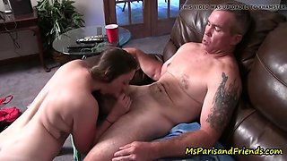 Ms paris and her taboo talesdaddy daughter gets caught