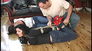 2 women on the floor