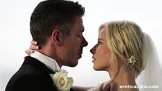 Hot bride Anikka Albrite gets fucked