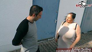 German ugly big boobs mother bbw fuck