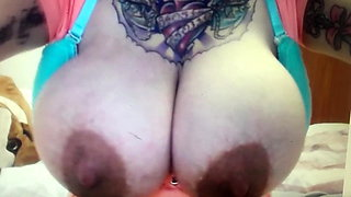 Tattoos Everywhere Except on Huge Heavy Hanging Breast
