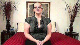 Desperate Amateurs BBW Missy Big tits Fucia first time