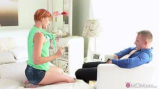 Exotic pornstars Matt, Nadia Bella in Horny Small Tits, MILF sex scene