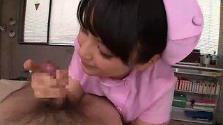 Best Japanese girl Kami Kimura in Amazing POV, Nurse JAV video
