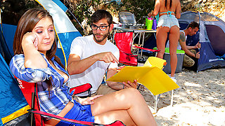 Brazzers – In Tents Fucking: Part 1