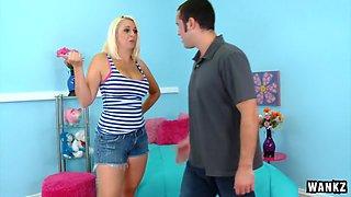 Curvy Body Mandy Sweet Pleasures A Stiff Rod