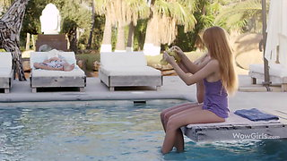 WOWGIRLS – Izzy Delphine and Michelle Seduce one Lucky Guy