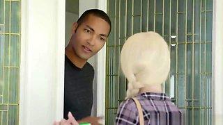 Black Dude Banging Innocent Blonde Girl